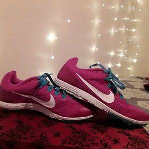 5.5 Nike Zoom Women's Running Spikes - Pink